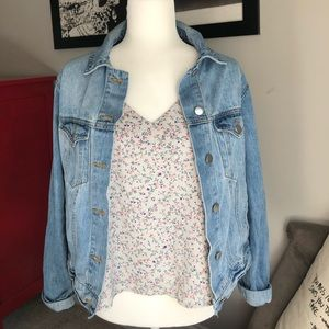 Wet seal size small floral tank top
